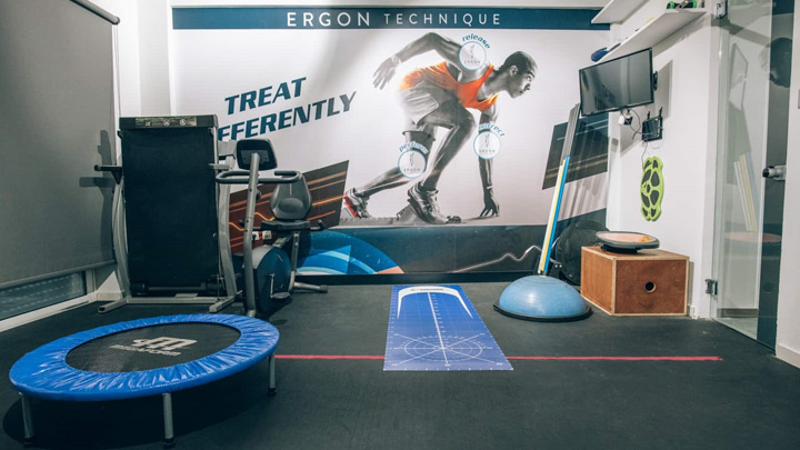 χώρος θεραπευτικής άσκησης Ergon Physio Center