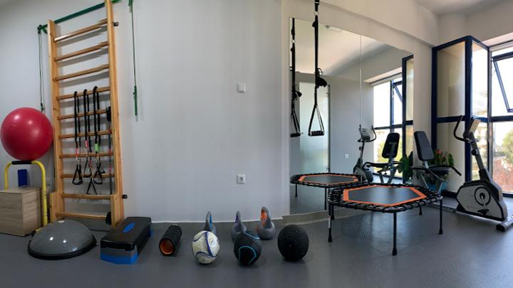 χώρος θεραπευτικής άσκησης Ergon Physio Center Θεσσαλονίκη